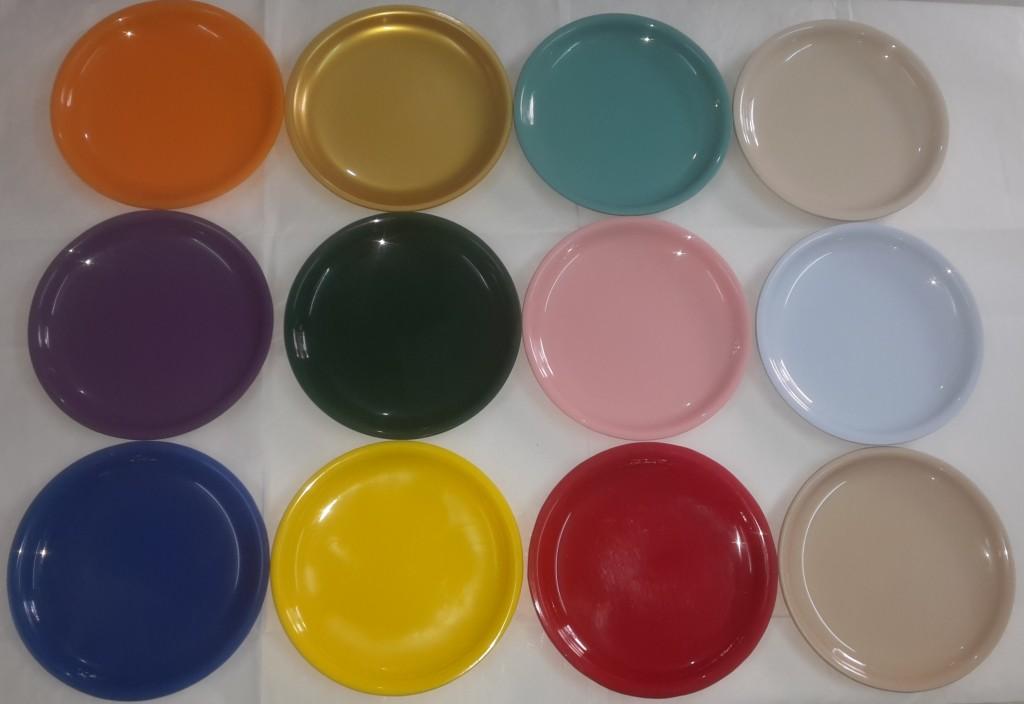 colours of quarter plate